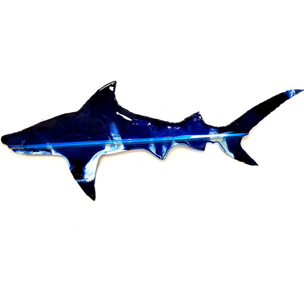 Shark Tin Roof Wall Art