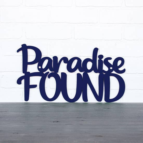 Paradise Found-Wall Art