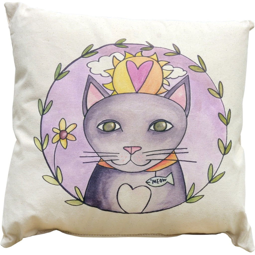 Pretty Kitty Pillow