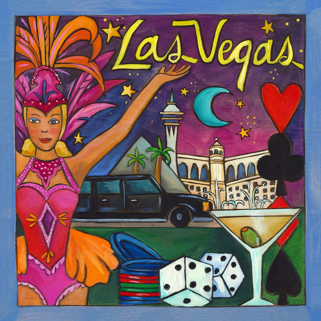 Las Vegas Plaque-Roll the Dice