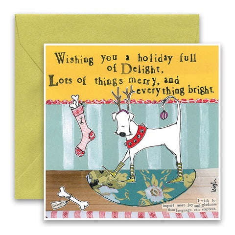 Holiday Card-Everything Bright