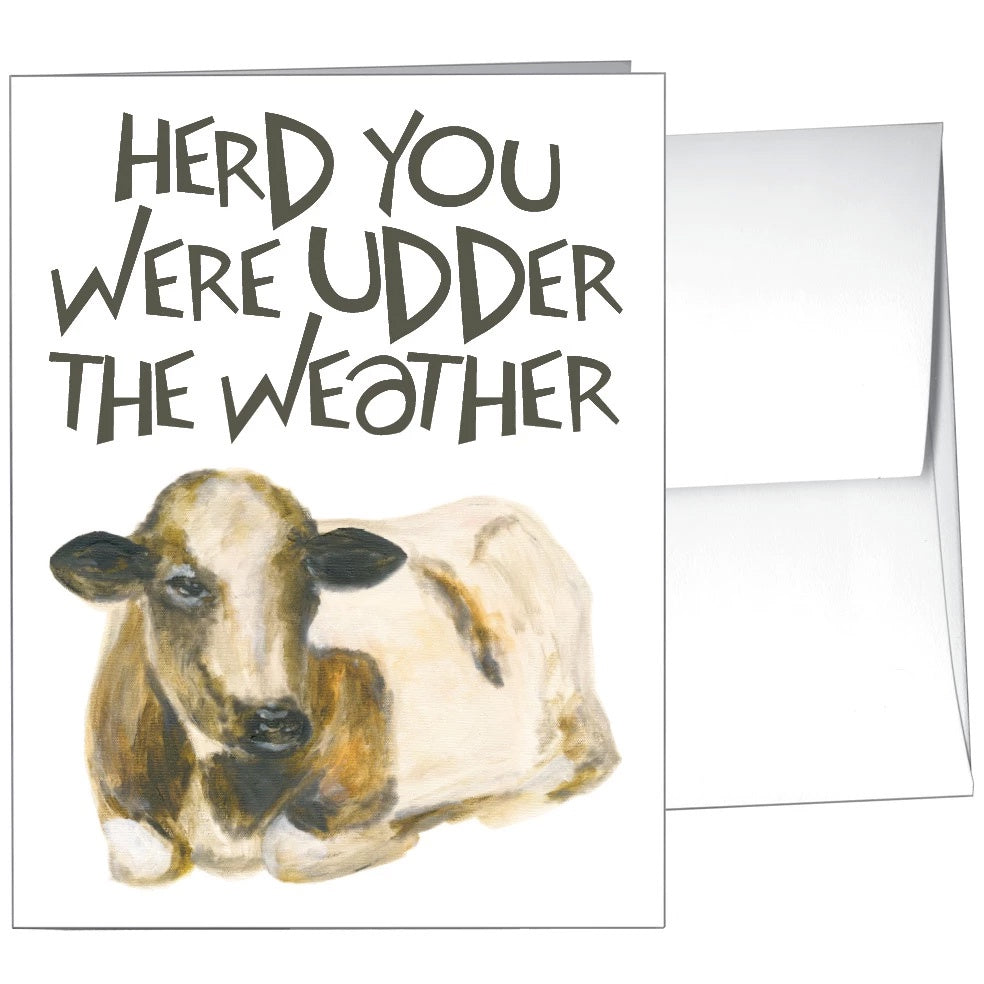 Card-Udder the Weather