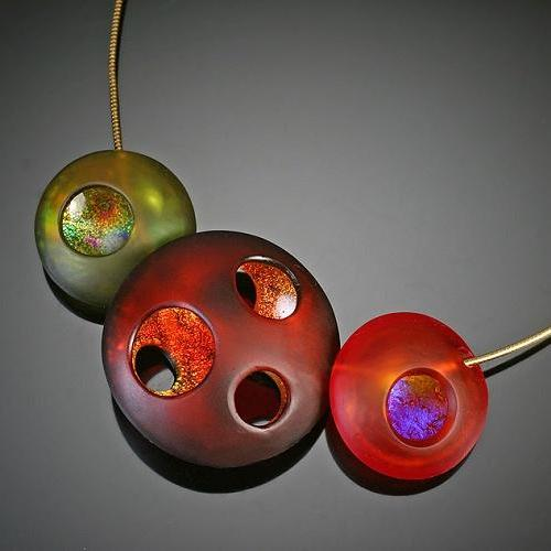 Four Seasons Orb Necklace-Fall