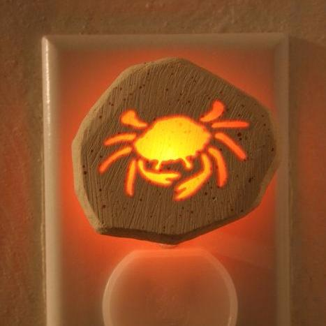 Glow Nightlight-Crab