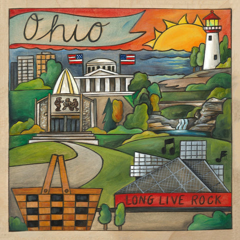 Ohio Plaque-Oh Ohio!