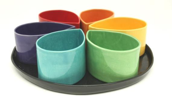 Tray for Teardrop  Bowls