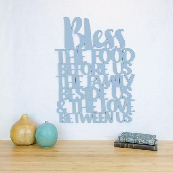 Bless the Food Before Us-Wall Art
