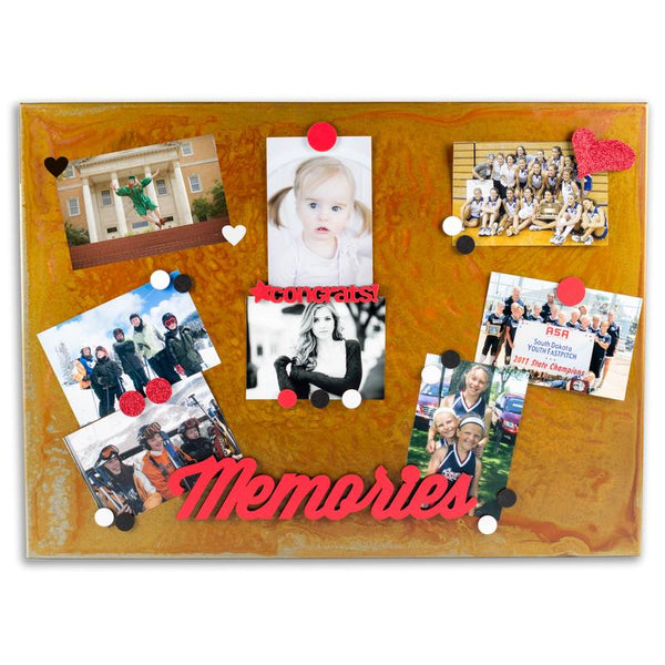 Magnetic Memo Board, Small-Wall Mount