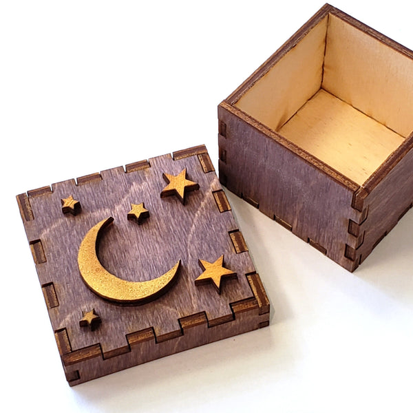 Tiny Treasures Box-Moon