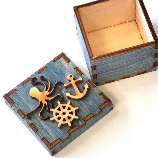 Tiny Treasures Box-Octopus