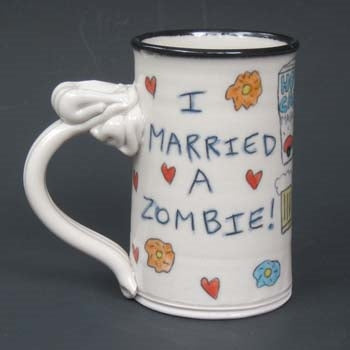 Married a Zombie Mug