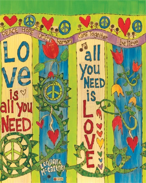 "Art Pole 20""-Love Is All You Need"