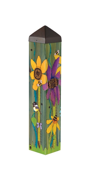 "Art Pole 20""-Peace Garden"