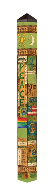 Art Pole 5'-Peace and Harmony