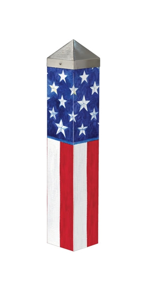 "Art Pole 20""-Stars & Stripes Forever"