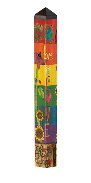 "Art Pole 40""-Be Proud"