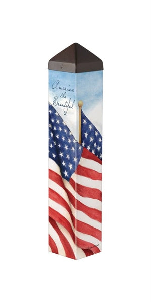 "Art Pole 20""-America the Beautiful"