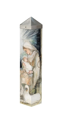 "Art Pole 20""-Mother and Child"