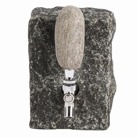 Beverage Dispenser-Black Granite | Funky Rock Desings | Random Acts of Art | Naples Florida