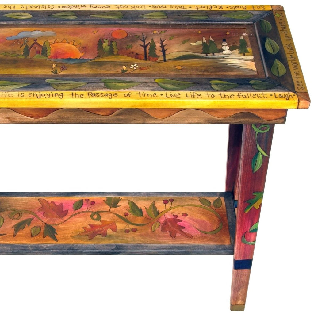 Sticks Sofa Table, 3 Foot-Four Seasons