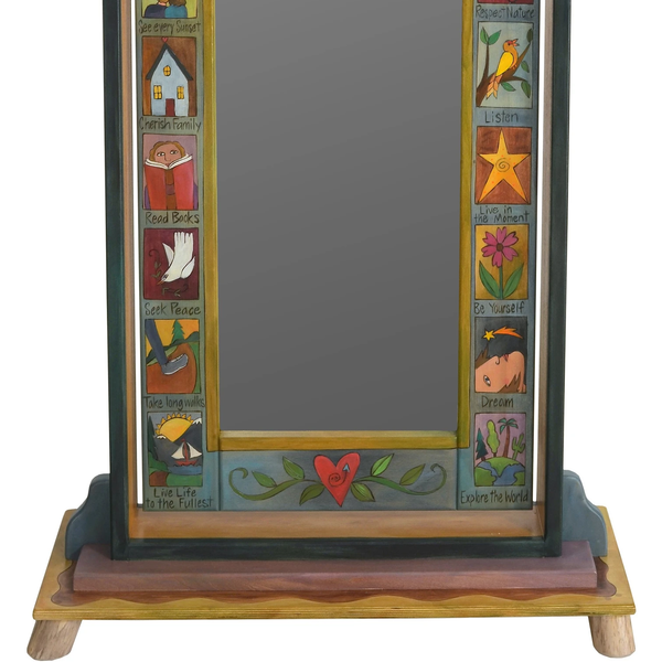 Wardrobe Mirror on Stand-Remember