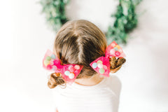 red bows for girls, hair tie, scrunchies