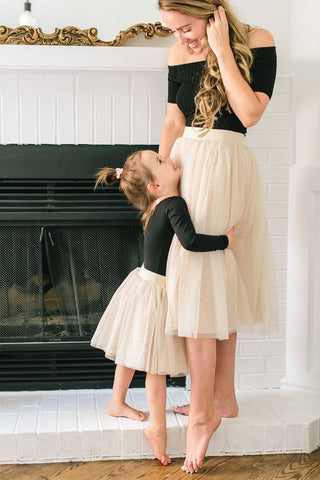 mommy and me tutu skirts set