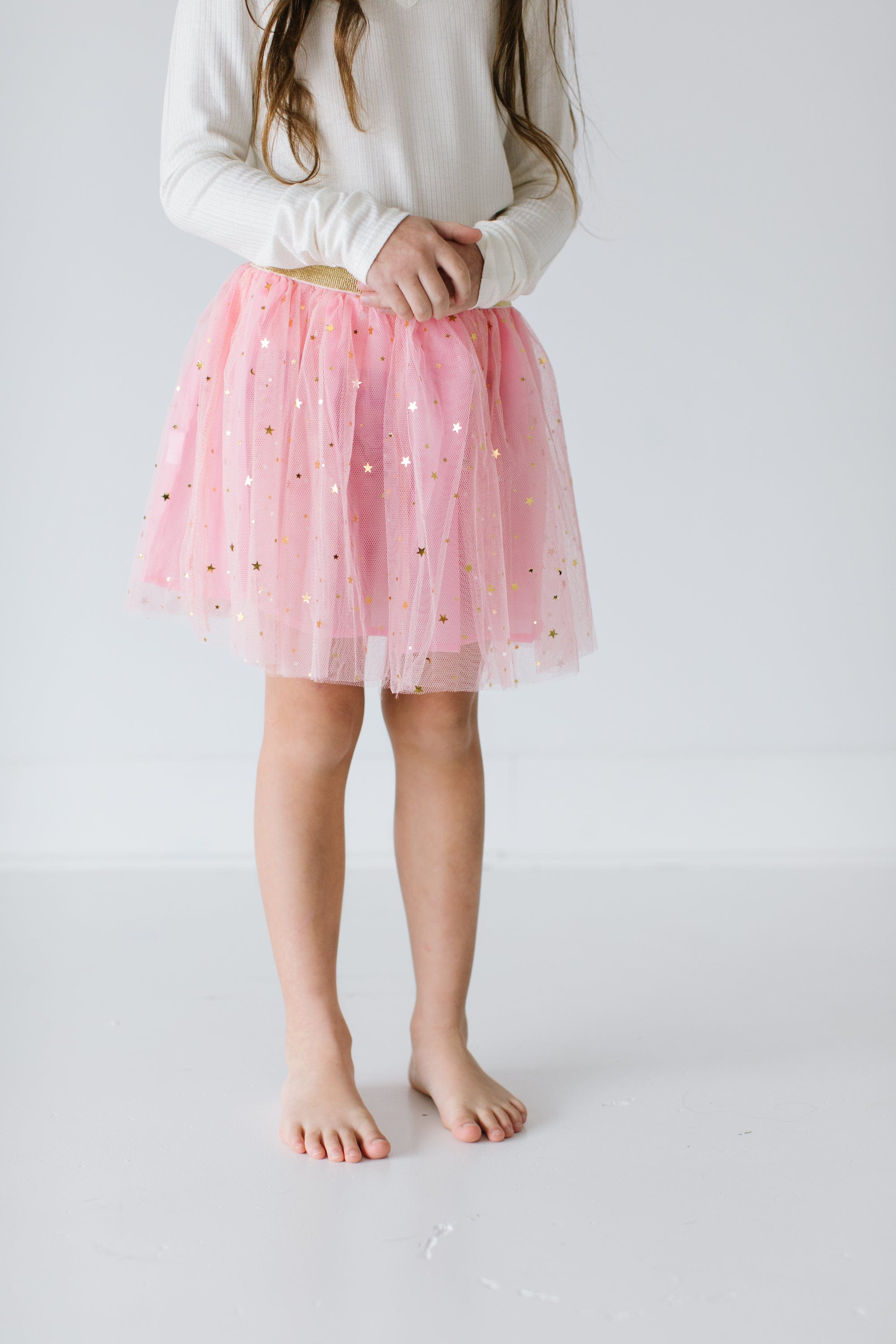 pink tutu with stars for children by tutu joli
