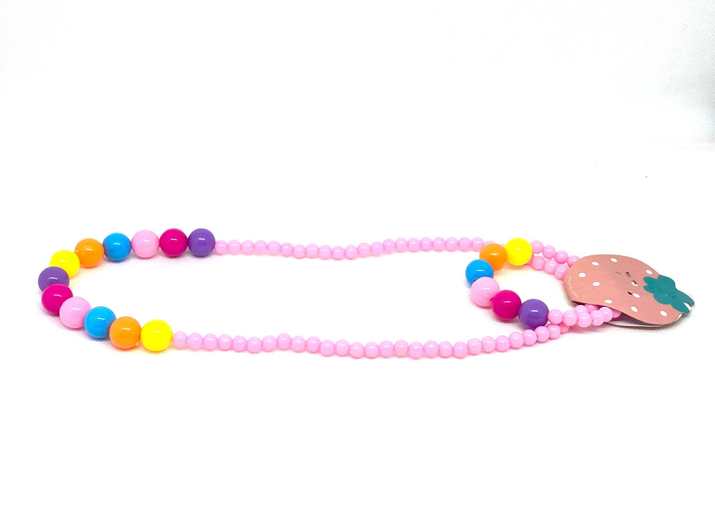 Children's Necklace & Bracelet Rainbow Set - Gift Set