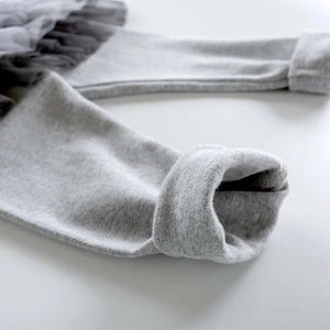 gray thick warm leggings
