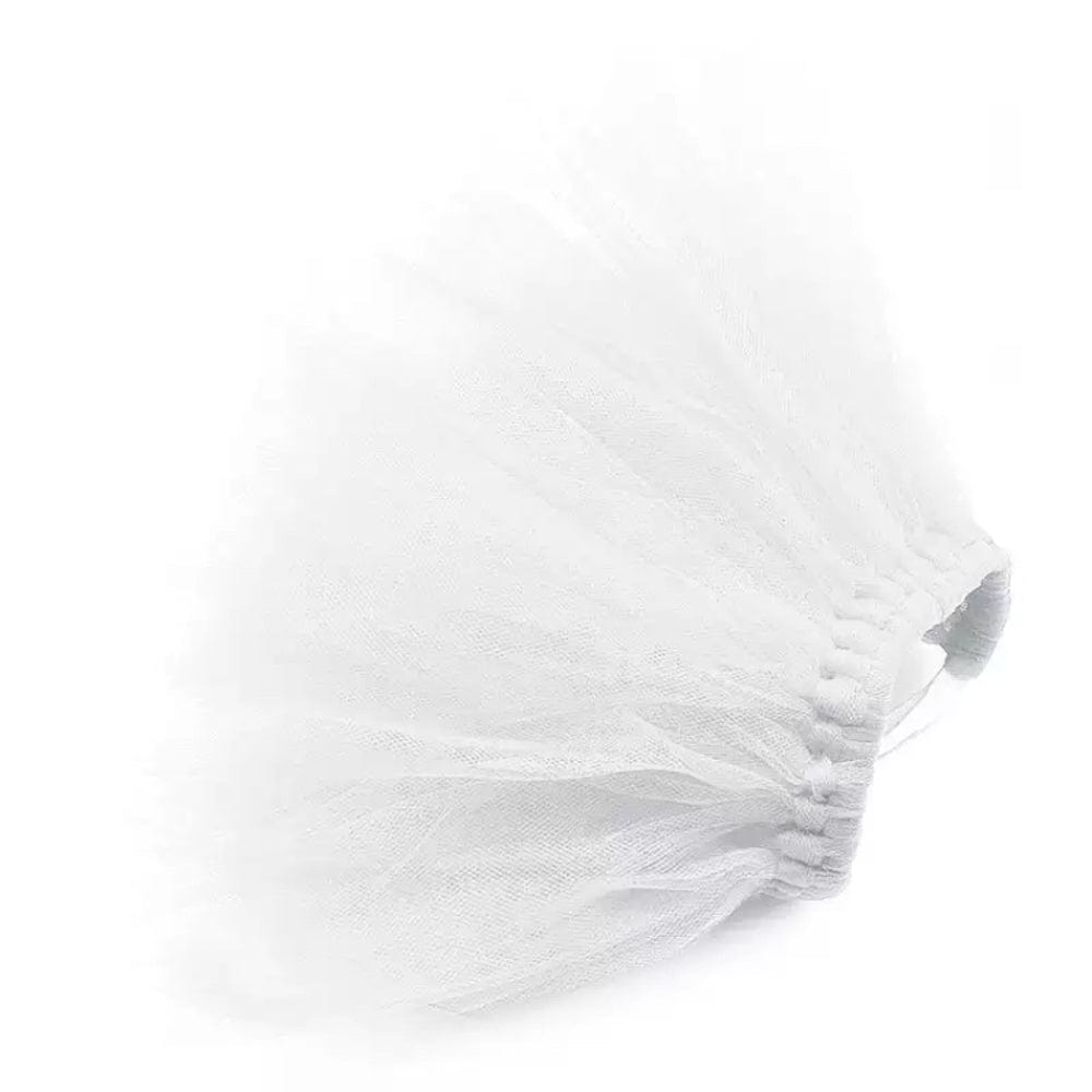 SMALL MEDIUM LARGE DOG WHITE TUTU WEDDING
