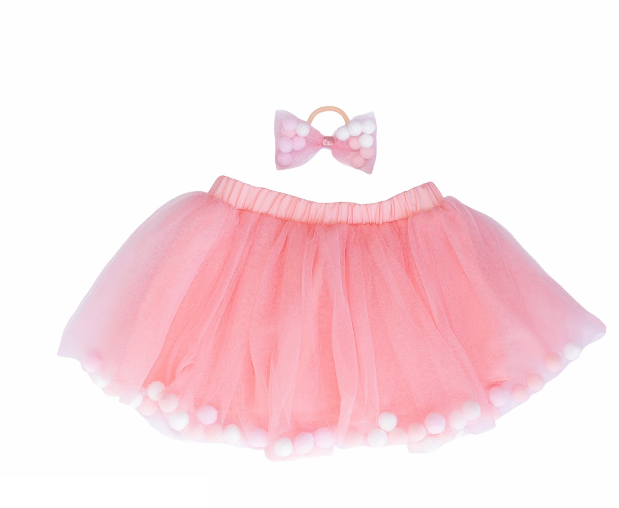 birthday tutu for cakesmash, pom pom hair tie bow for children, tutu joli rose pink tutu skirt, pom pom tutu dusty rose, rose pink pom pom hair bow, pom pom hair accessories, pom pom balls tutu, tootoo, pompoms, rose pink tutu skirt, dusty pink tutu with poms, pompoms, rose pink tootoo for kids, kids ballet tutu skirt in white pink, baby ballet tutu skirt in dusty rose pink, tutu set 2 pieces, 2pc pom pom tutu and headband, pom pom tutu and hair tie, kids must haves