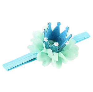 tutu joli, blue prince frog, blue green pearl crown headband with tutu skirt for babies, tutu joli, birthday crown newborn, baby's first birthday crown, party favors, birthday smash cake outfit, infant tutu