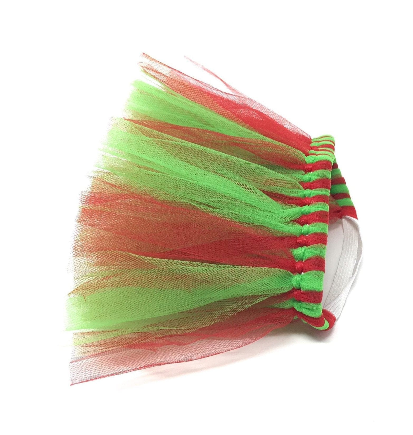 christmas dog tutu red and green for pets by tutu joli