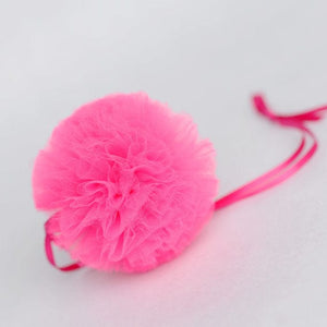 fluffed pom pom balls, large pom pom balls, pom pom pouf, tulle pouf, pompom balls for decorations, birthday pom pom accessory, birthday party pom poms, white pom poms, pink pom poms, medium size pom poms, wedding pom poms, large fluffed poms, pompoms, tutu joli, neon pom poms,