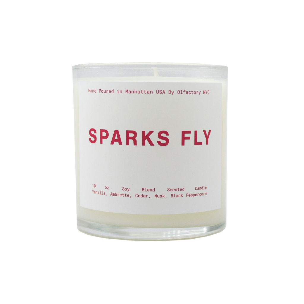 Sparks Fly Candle