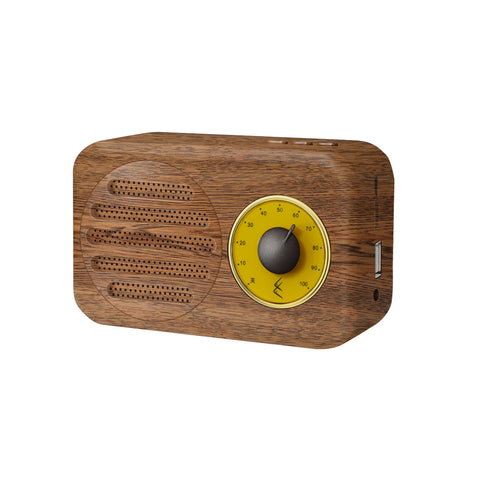 Retro Bluetooth speaker with FM radio