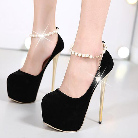 16cm extreme high heels shoes