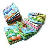Baby Development Cloth Books Colorful Educational