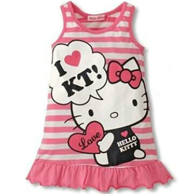 Cute Minnie Hello Kitty Dress