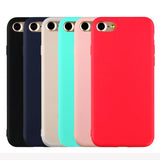 Candy Colors Soft cases for Apple iPhone 5 5S SE 6 6S 7
