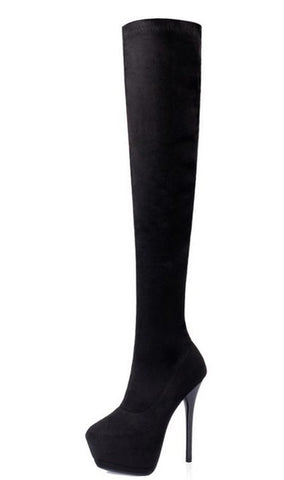 Over the knee high boots