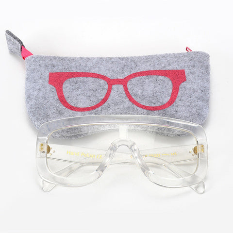 ROYAL GIRL NEW Unique Clear Eyeglasses Frames Oversize Women Acetate Spectacles Glasses ss019