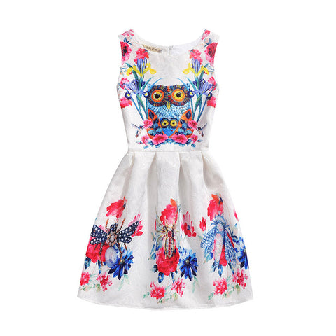 Flower Party Dresses For 9 10 12 Years