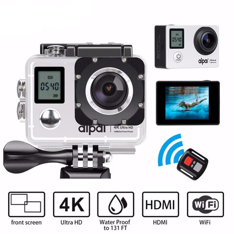 4K Ultra HD 30fps 1080p remote Wifi 40m Waterproof