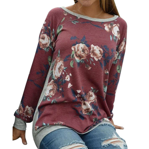 Street Style Long Sleeve T-shirt