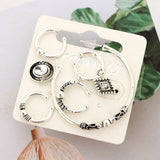 1Set Fashion Vintage  Earring  Women Party Earrings Jewelry Accessories Gifts