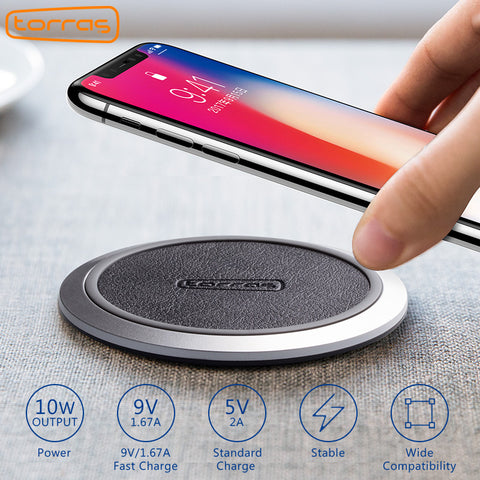 Qi Wireless Charger iPhone X 8 Samsung Galaxy S8 Edge Google Nexus 4/5 Lumia