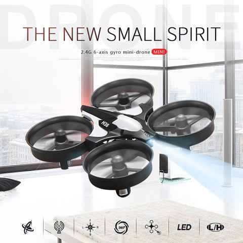 Mini Drone RC Drone Quadcopters Headless Mode One Key Return