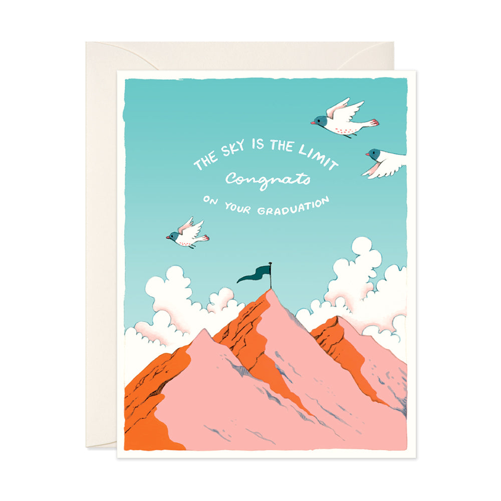 Sky is the Limit Graduation Card